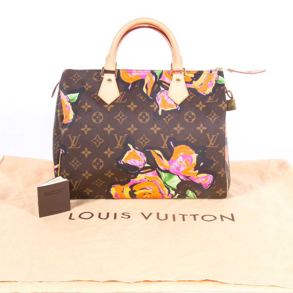 e9cd5b185c8b6 Louis Vuitton Stephen Sprouse Roses Speedy 30 Bags Louis Vuitton - Shop  authentic new pre- ...