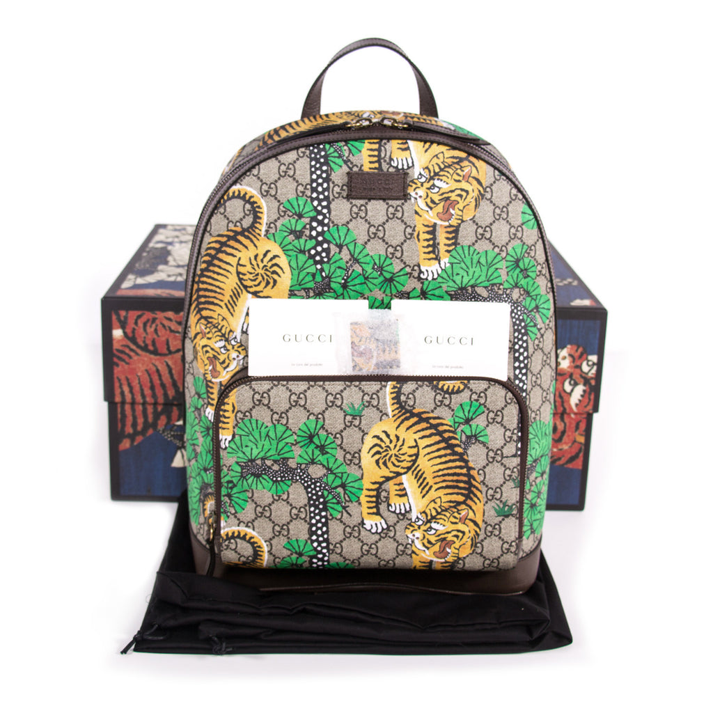 ... Gucci Bengal GG Supreme Backpack Bags Gucci - Shop authentic new  pre-owned designer brands ... 329ae9917657d