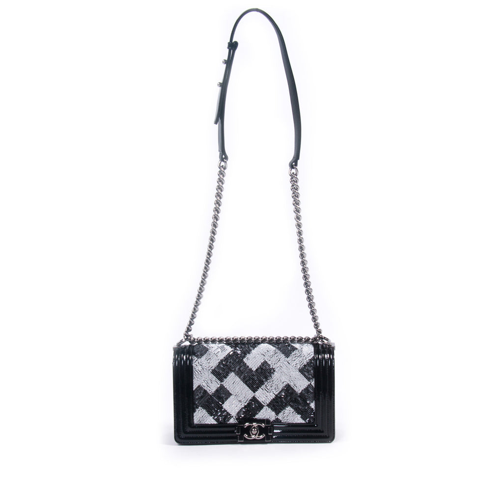 Chanel Sequin Boy Flap Bag Bags Chanel - Shop authentic pre-owned designer brands online at Re-Vogue
