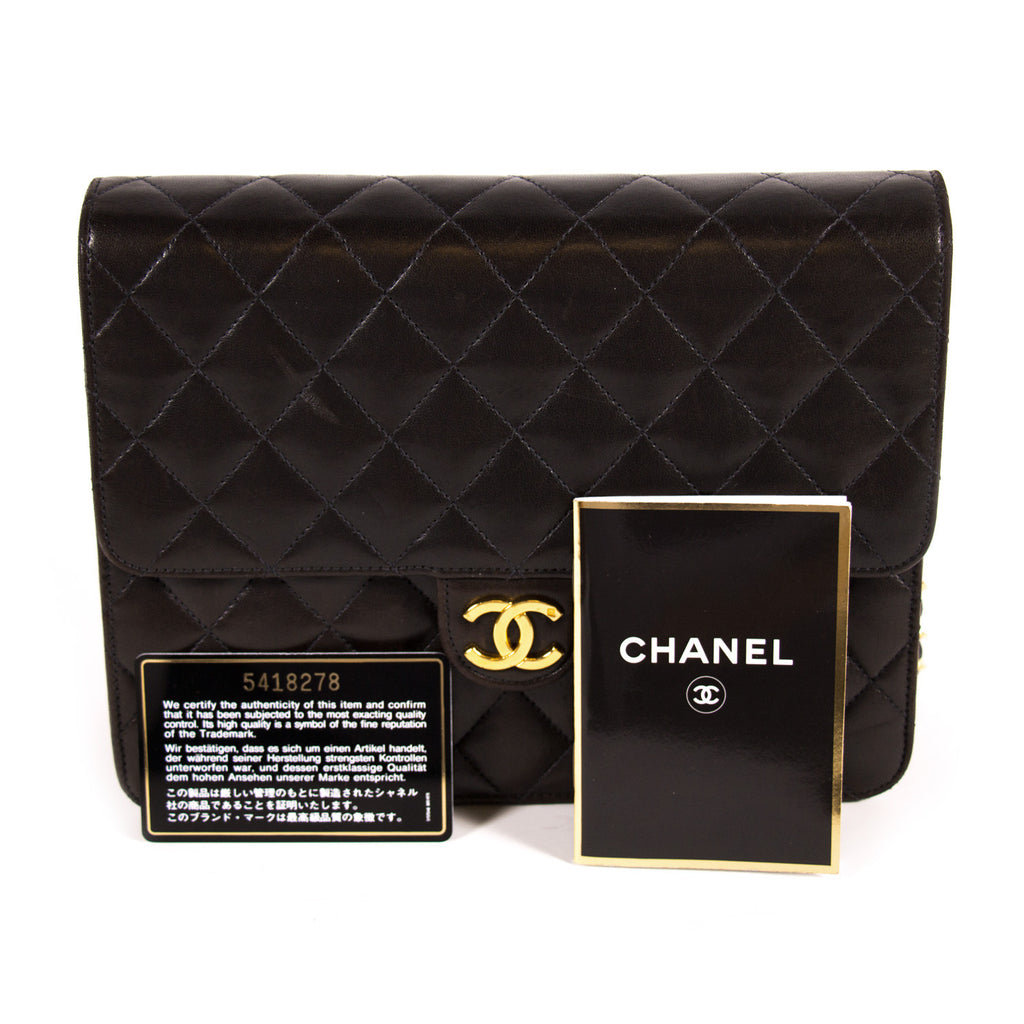 Chanel Black Chain Quilted Bag Bags Chanel - Shop authentic new pre-owned designer brands online at Re-Vogue