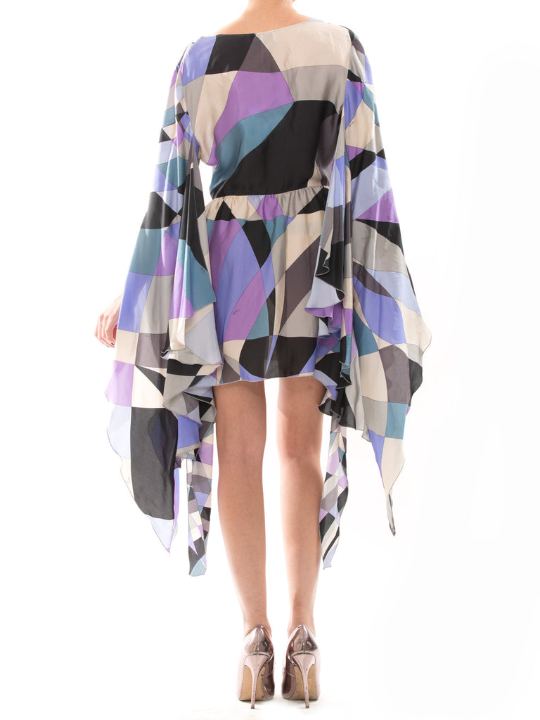 Emilio Pucci Purple Silk Dress - revogue