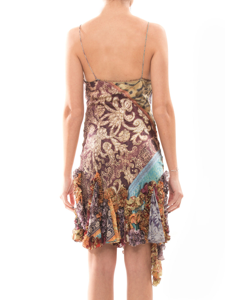 Roberto Cavalli Silk Dress -Shop pre-owned luxury designer brands on discount online at Re-Vogue