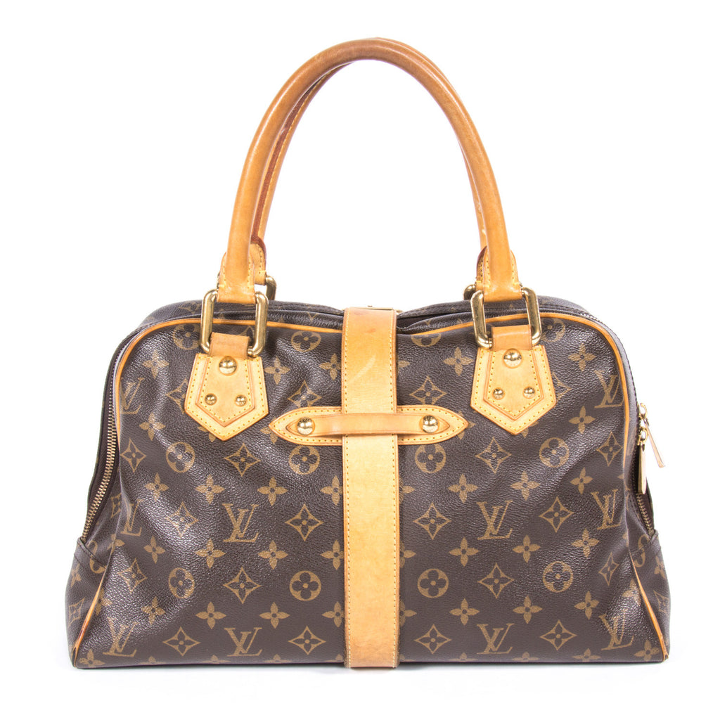 Louis Vuitton Manhattan GM -Shop pre-owned luxury designer brands on discount online at Re-Vogue