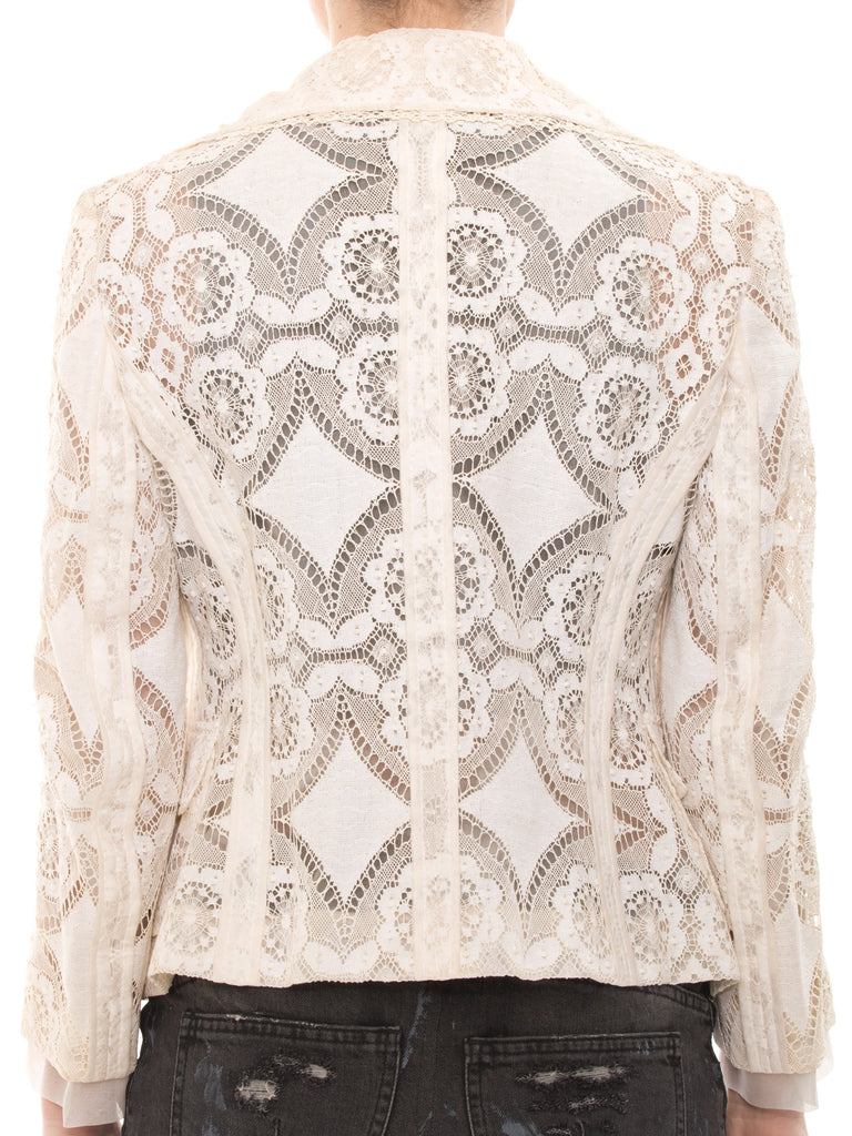 Dolce & Gabbana Lace Jacket Jacket Dolce & Gabbana - Shop authentic new pre-owned designer brands online at Re-Vogue
