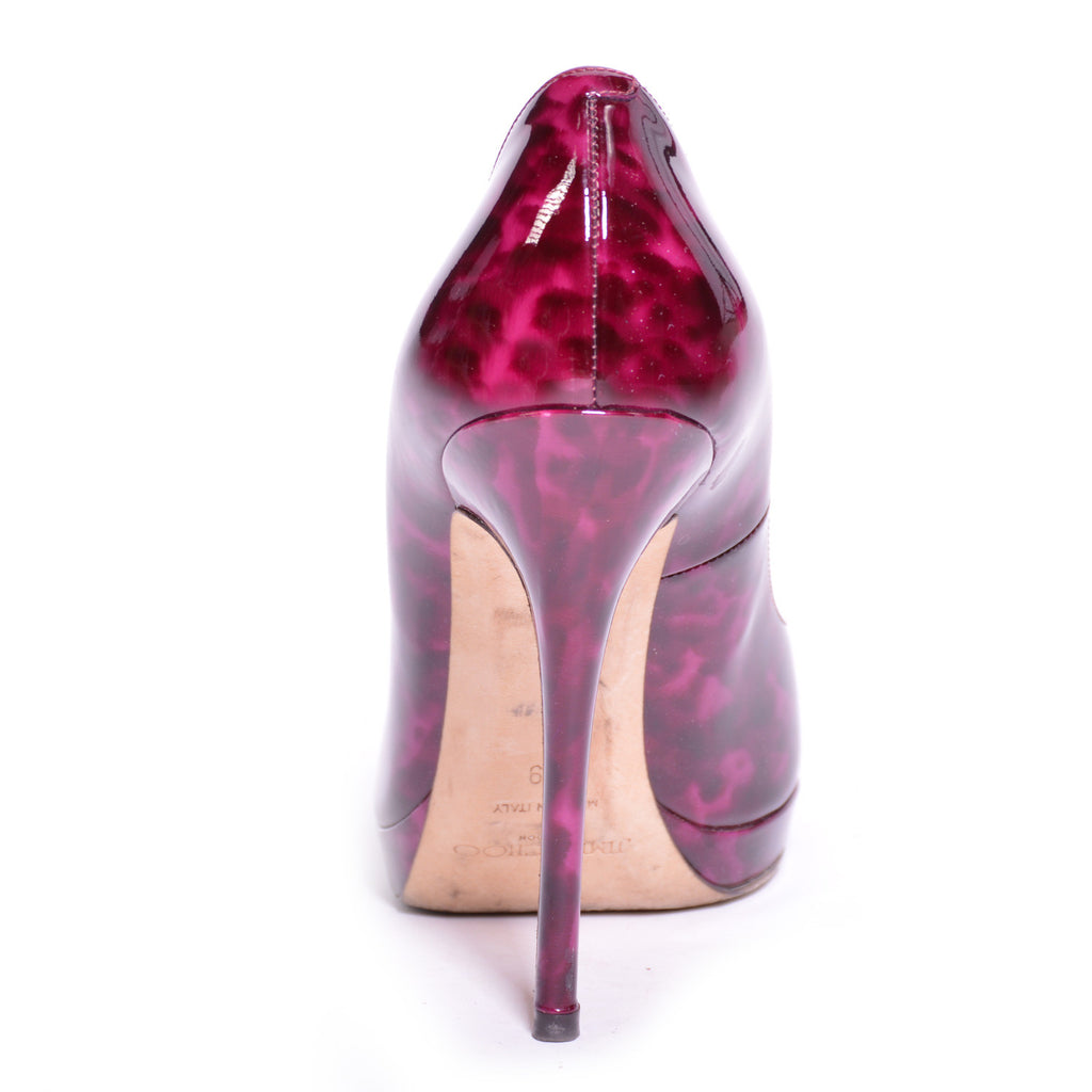 Jimmy Choo Peep-Toe Pumps Shoes Jimmy Choo - Shop authentic new pre-owned designer brands online at Re-Vogue
