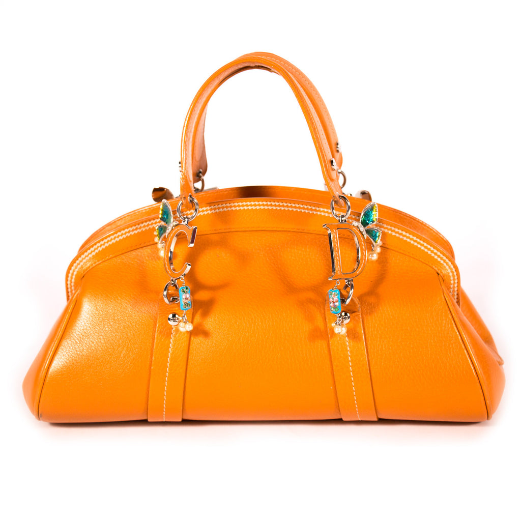 Christian Dior Bowler Bag Bags Dior - Shop authentic new pre-owned designer brands online at Re-Vogue