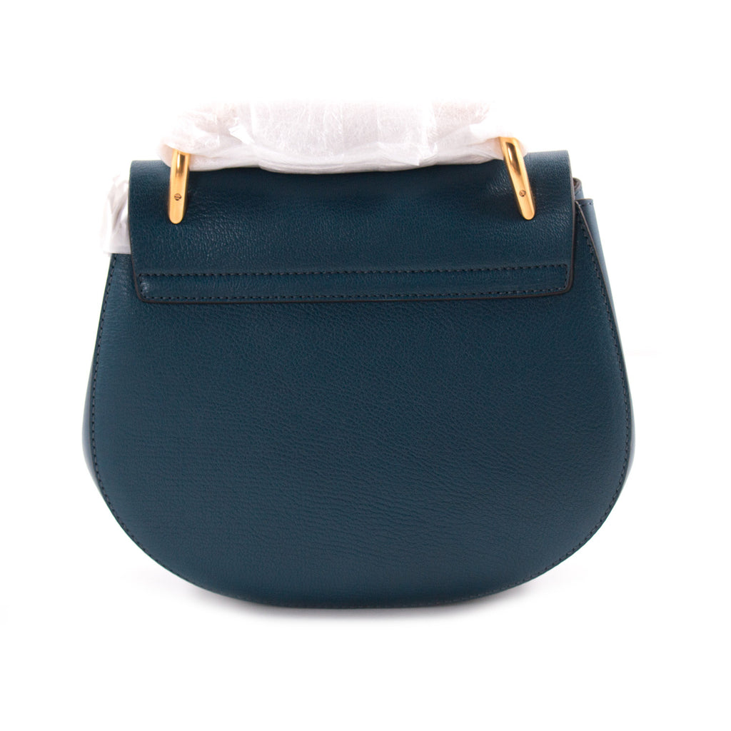Chloé Drew Small Leather Shoulder Bag Bags Chloé - Shop authentic new pre-owned designer brands online at Re-Vogue