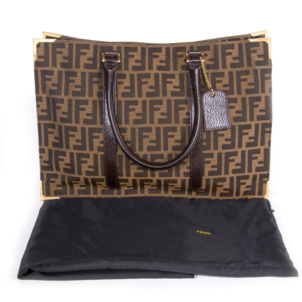 Fendi Classico No. 4 Canvas Zucca Tote Bag Bags Fendi - Shop authentic new pre-owned designer brands online at Re-Vogue