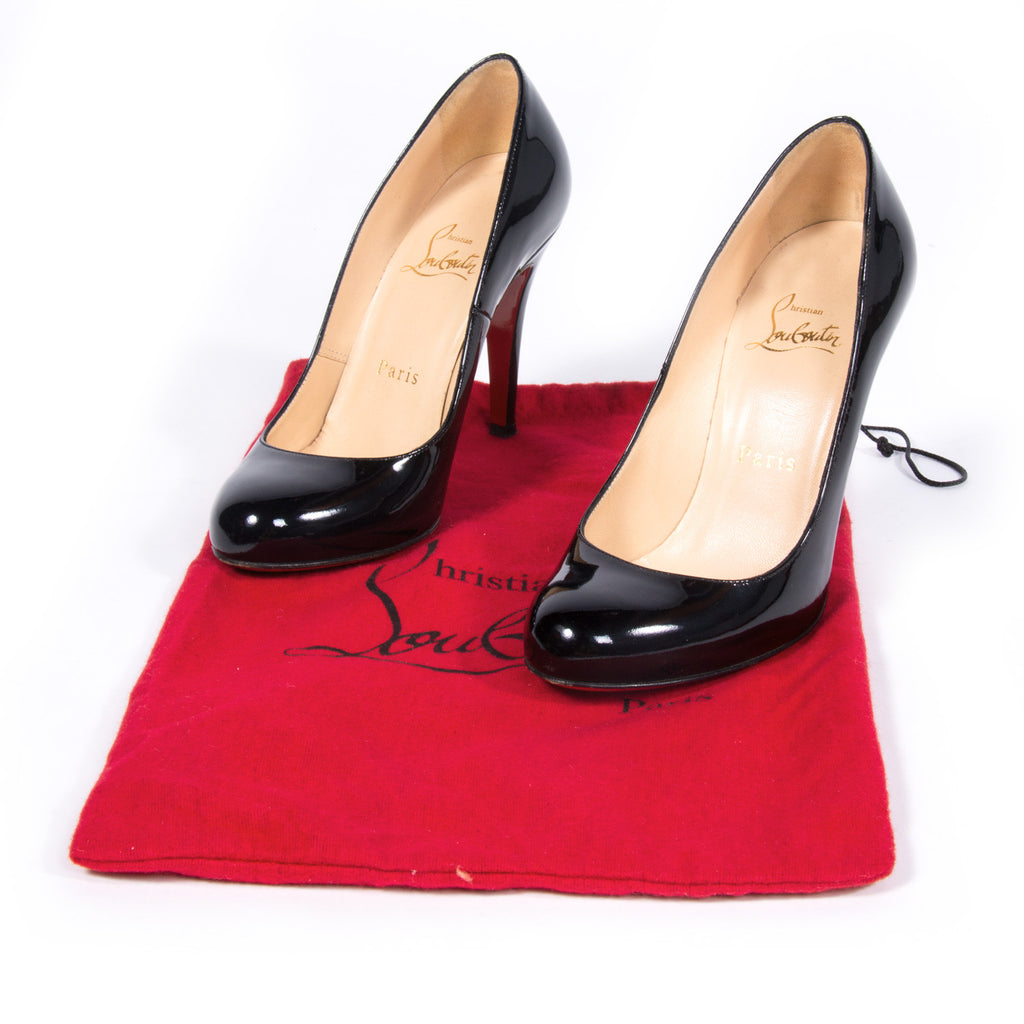 Christian Louboutin Rounded Toe Pumps - revogue
