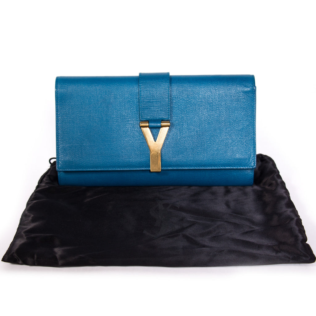 Saint Laurent Chyc Clutch Bags Yves Saint Laurent - Shop authentic new pre-owned designer brands online at Re-Vogue