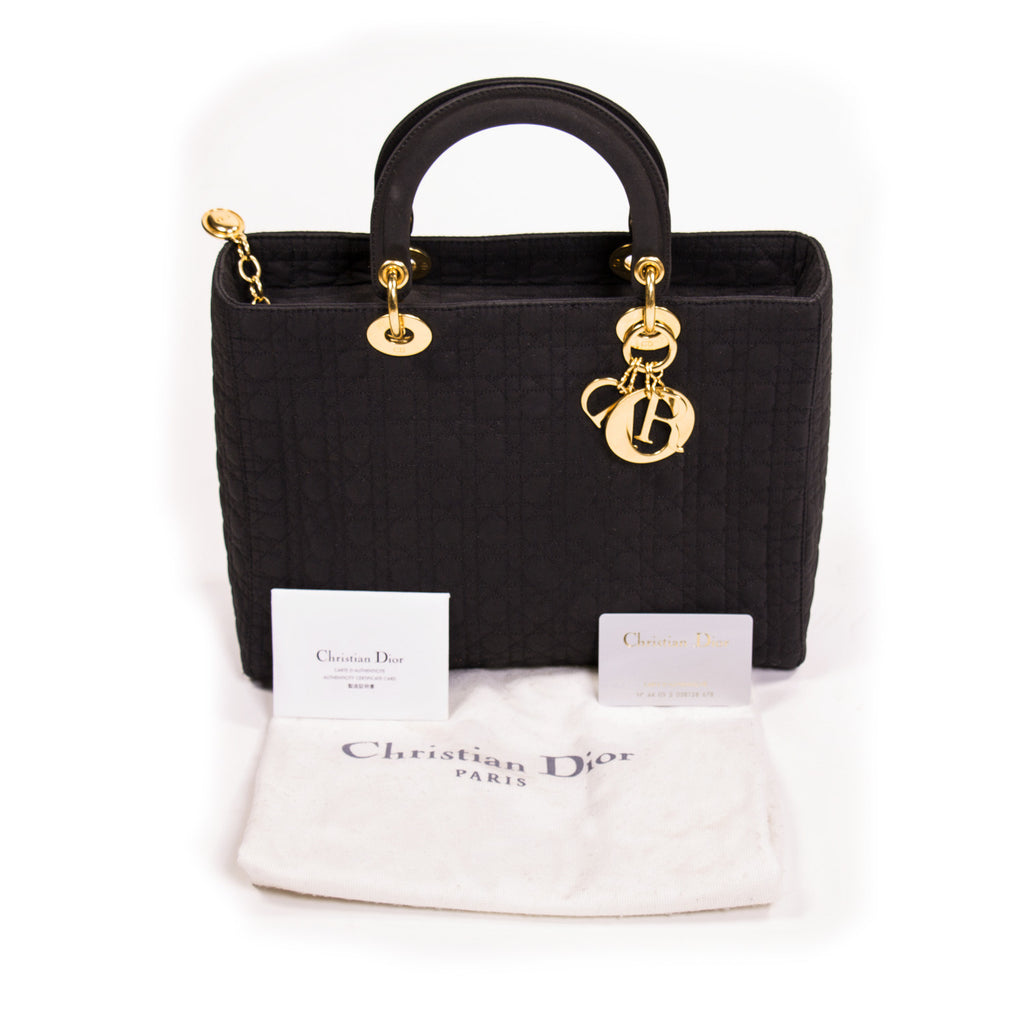 Christian Dior Lady Dior Bag Bags Dior - Shop authentic new pre-owned designer brands online at Re-Vogue
