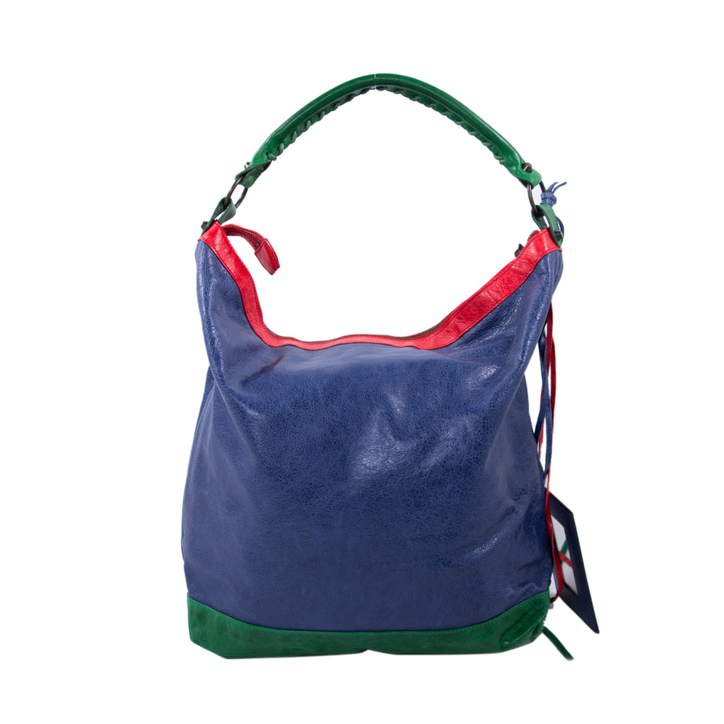 Balenciaga Motocross Classic Day Hobo Bag Bags Balenciaga - Shop authentic new pre-owned designer brands online at Re-Vogue