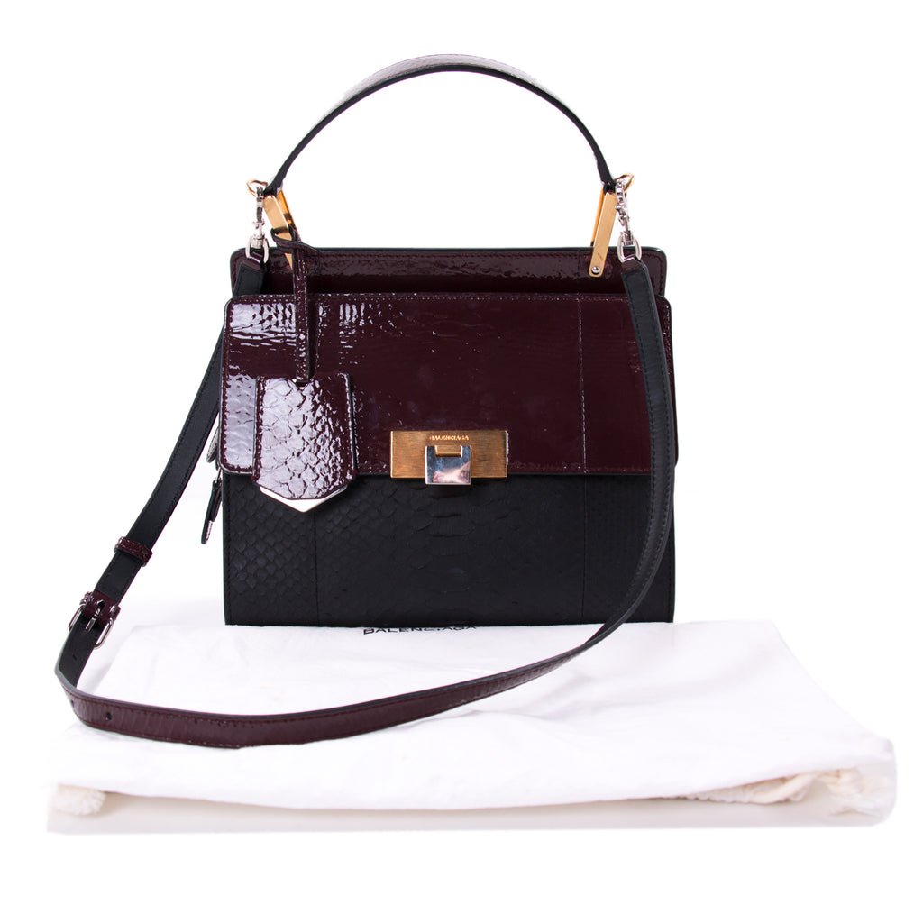 Balenciaga Le Dix Zip Cartable S Satchel Bags Balenciaga - Shop authentic new pre-owned designer brands online at Re-Vogue