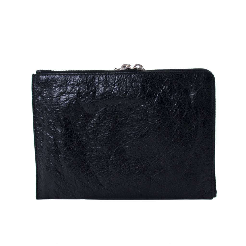 Balenciaga Classic Half Zip Around Pouch Accessories Balenciaga - Shop authentic new pre-owned designer brands online at Re-Vogue