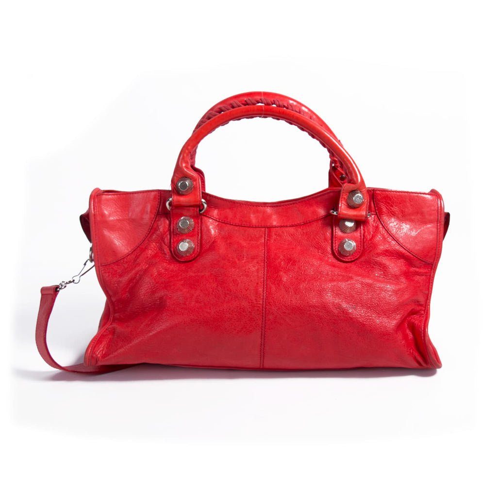 Balenciaga Lambskin Classic City Bag Bags Balenciaga - Shop authentic new pre-owned designer brands online at Re-Vogue