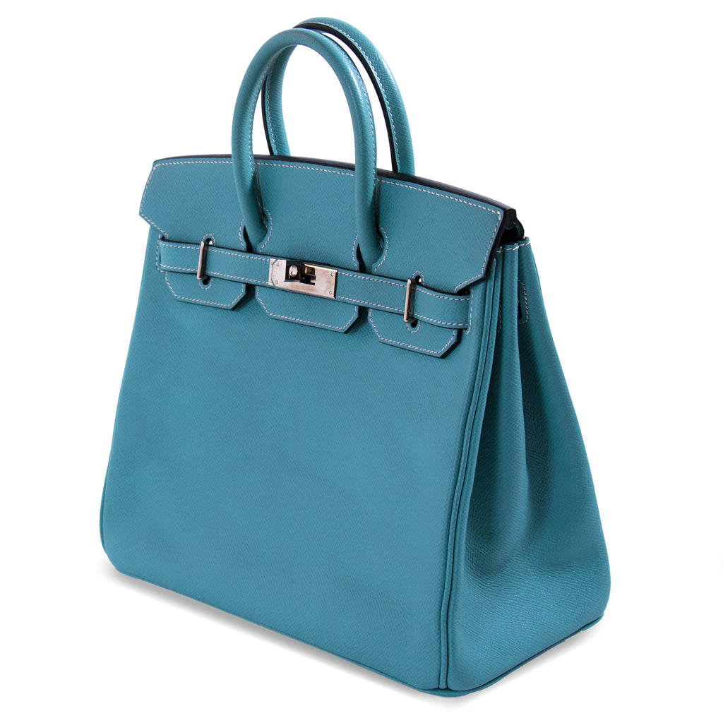 Hermès Birkin 28 HAC Blue Jean Epsom Bags Hermès - Shop authentic new pre-owned designer brands online at Re-Vogue