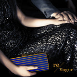 Elie Saab Stripped Clutch Clutch Elie Saab - Shop authentic new pre-owned designer brands online at Re-Vogue