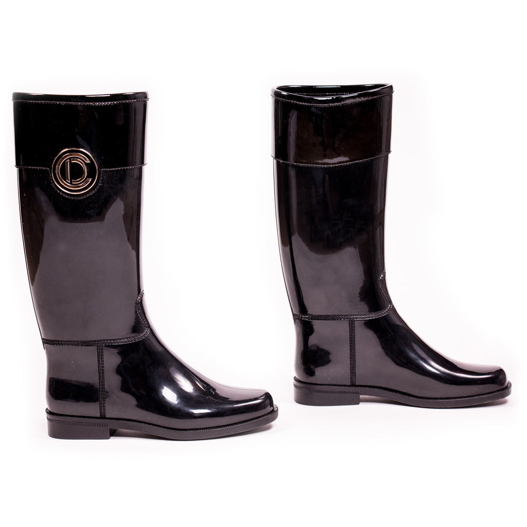Dior Rubber Logo Rain Boots Shoes Dior - Shop authentic new pre-owned designer brands online at Re-Vogue