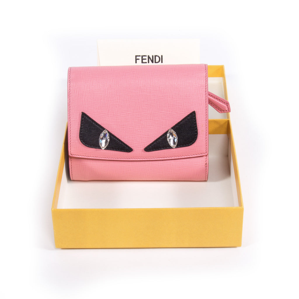 Fendi Crayons Leather Wallet Accessories Fendi - Shop authentic new pre-owned designer brands online at Re-Vogue