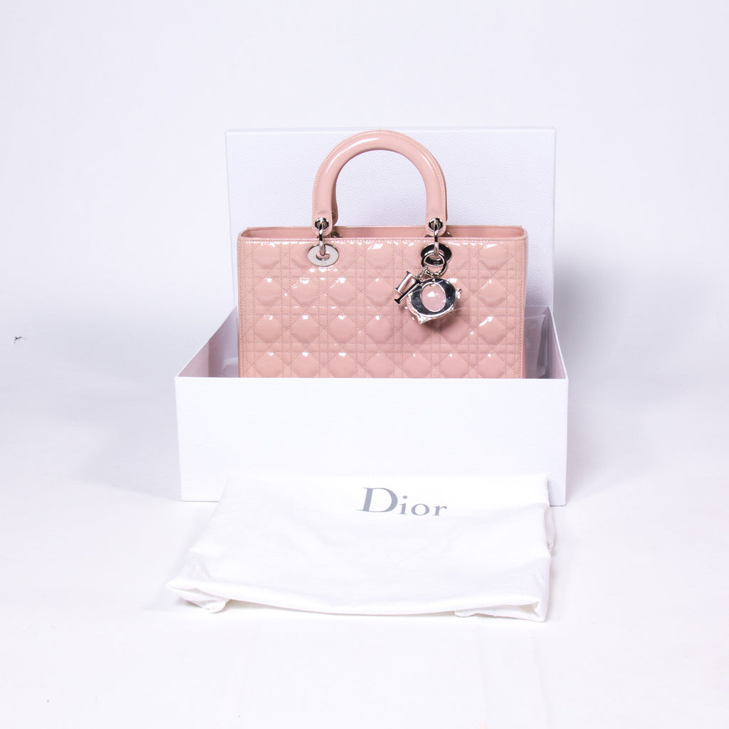 Christian Dior Large Lady Dior Bags Dior - Shop authentic new pre-owned designer brands online at Re-Vogue