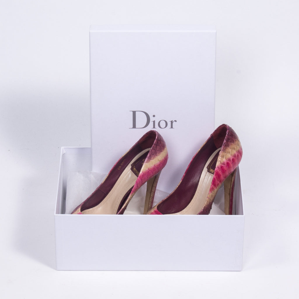 Dior Hortensia Pumps Shoes Dior - Shop authentic new pre-owned designer brands online at Re-Vogue