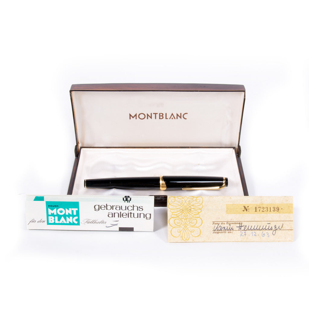 Montblanc Meisterstück Fountain Pen Accessories Montblanc - Shop authentic new pre-owned designer brands online at Re-Vogue