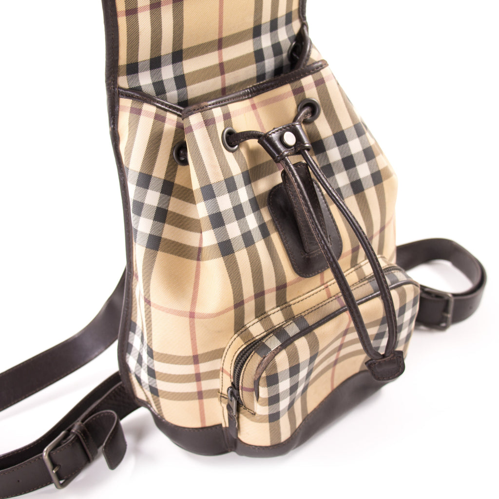 Burberry Small Nova Check Backpack Bags Burberry - Shop authentic new pre-owned designer brands online at Re-Vogue