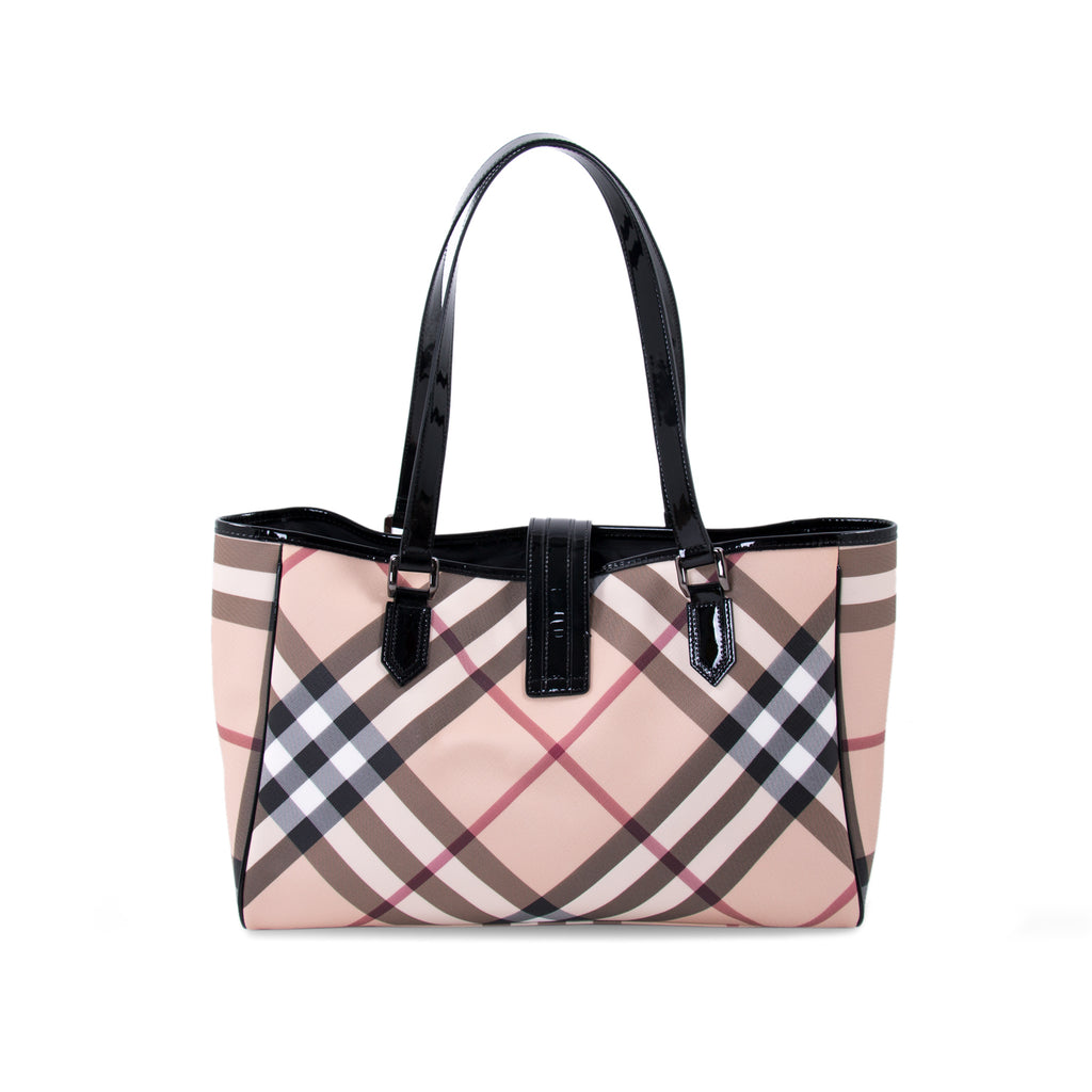 1dd4fe5f56b ... Burberry Super Nova Check Tote Bags Burberry - Shop authentic new pre-owned  designer brands ...