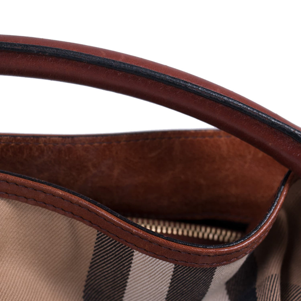Burberry Bridle House Check Gosford Hobo Bags Burberry - Shop authentic new pre-owned designer brands online at Re-Vogue