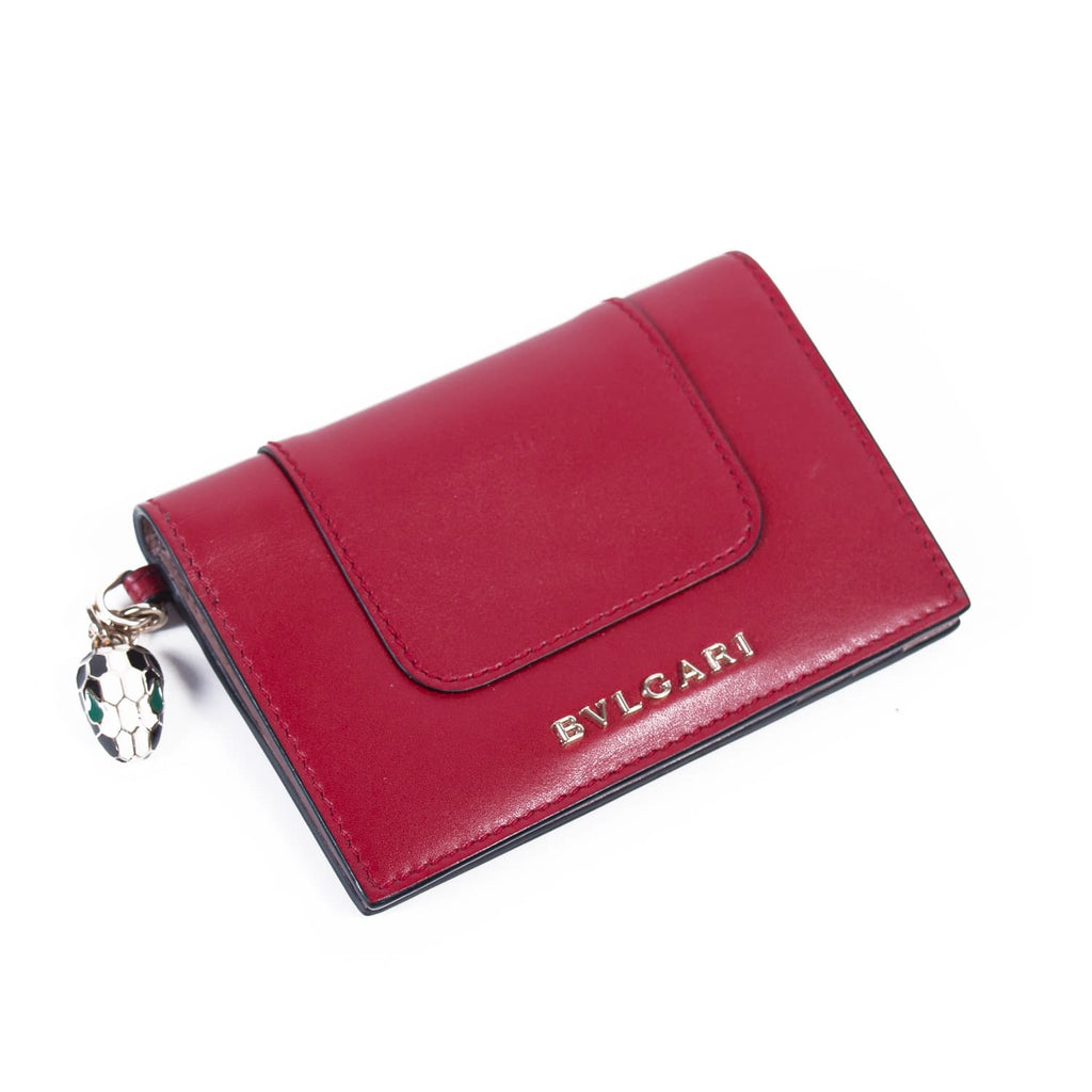 Bvlgari Serpenti Forever Card Holder Accessories Bvlgari - Shop authentic new pre-owned designer brands online at Re-Vogue