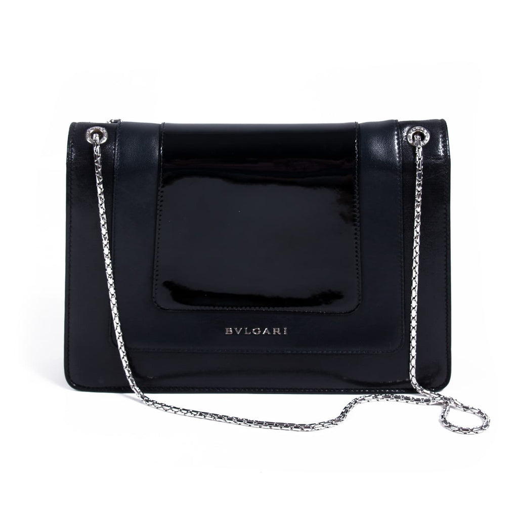 Bvlgari Serpenti Forever Flap Cover Bag Bags Bvlgari - Shop authentic new pre-owned designer brands online at Re-Vogue
