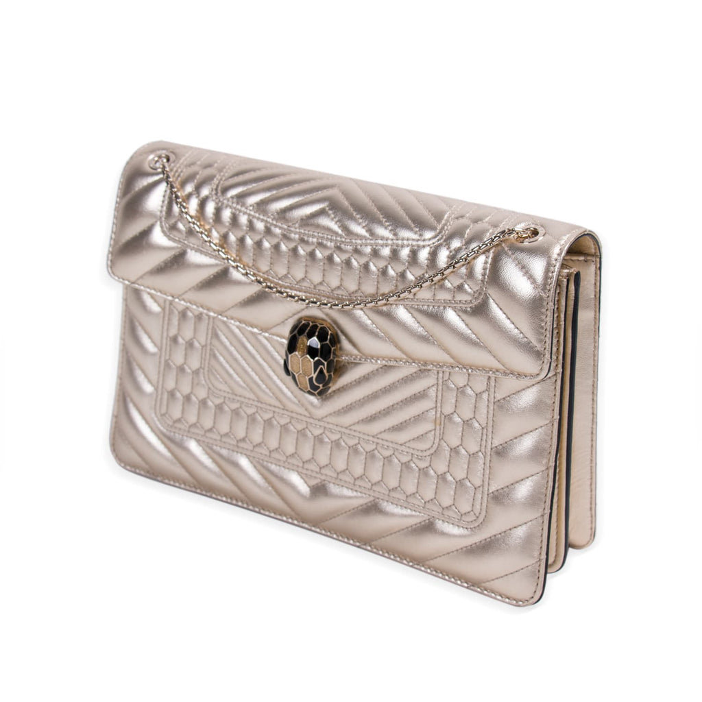 Bvlgari Serpenti Quilted Forever Flap Bag Bags Bvlgari - Shop authentic new pre-owned designer brands online at Re-Vogue