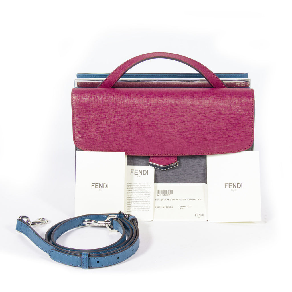 Fendi Demi-Jour Small Bags Fendi - Shop authentic new pre-owned designer brands online at Re-Vogue