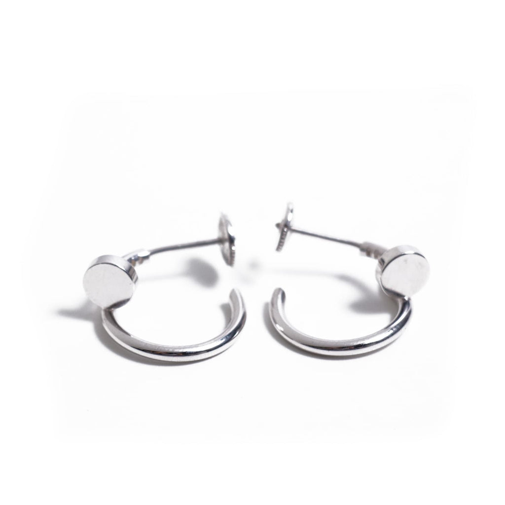 Cartier Juste Un Clou White Gold Earrings Accessories Cartier - Shop authentic new pre-owned designer brands online at Re-Vogue