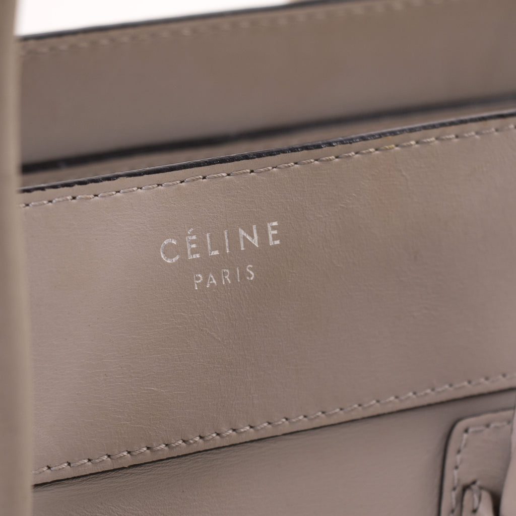 Celine Mini Luggage Tote Bag Bags Celine - Shop authentic new pre-owned designer brands online at Re-Vogue