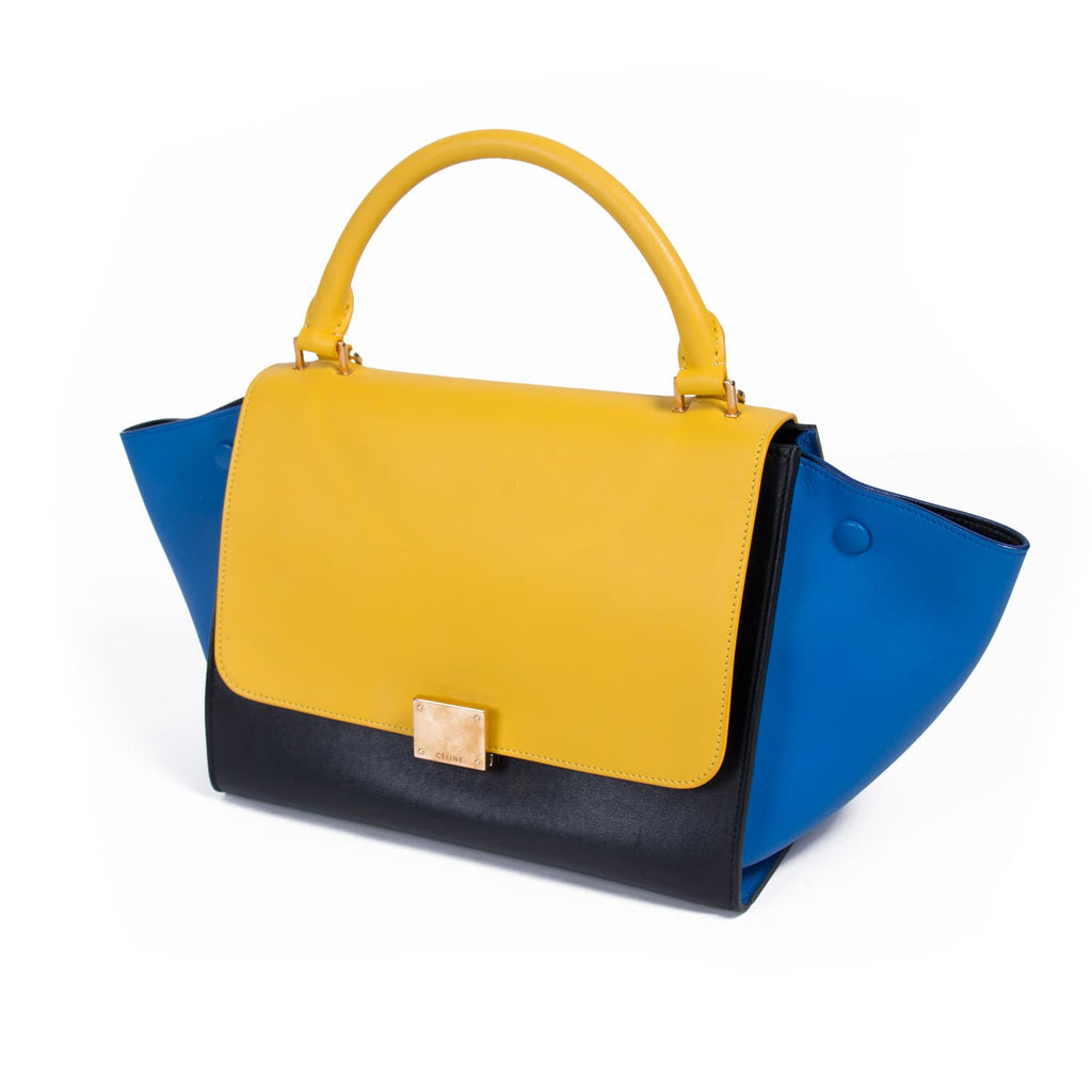 Celine Tricolor Trapeze Bag Bags Celine - Shop authentic new pre-owned designer brands online at Re-Vogue