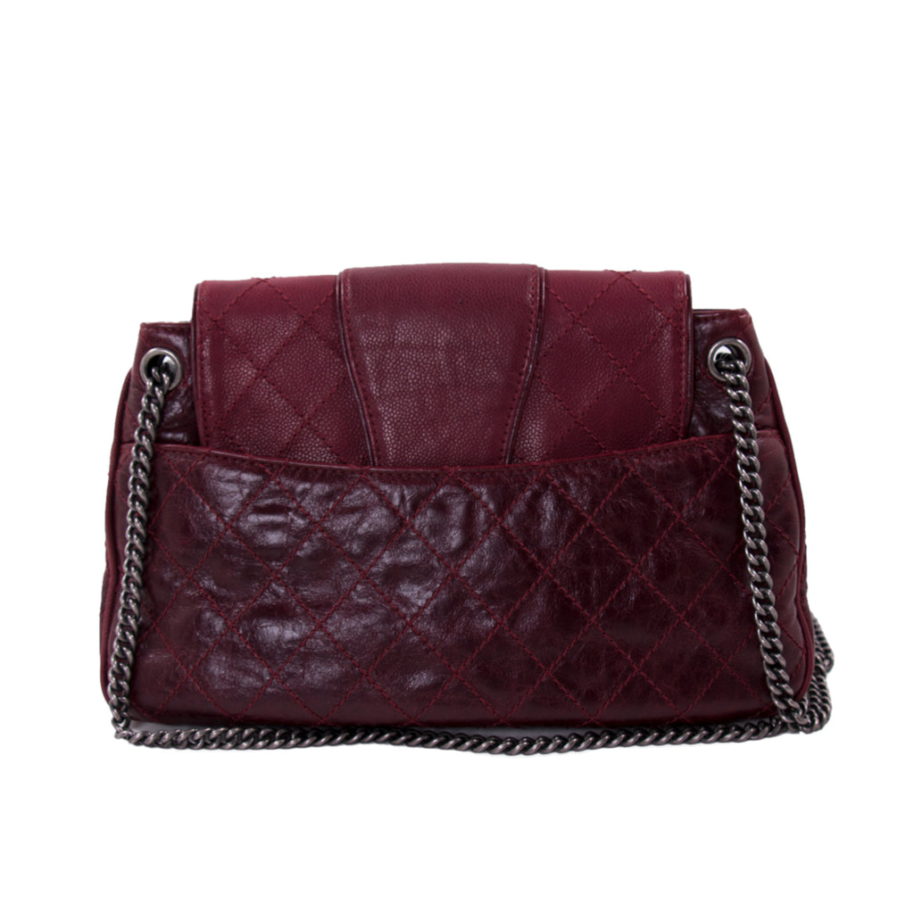 Chanel Accordion CC Flap Bag Bags Chanel - Shop authentic new pre-owned designer brands online at Re-Vogue