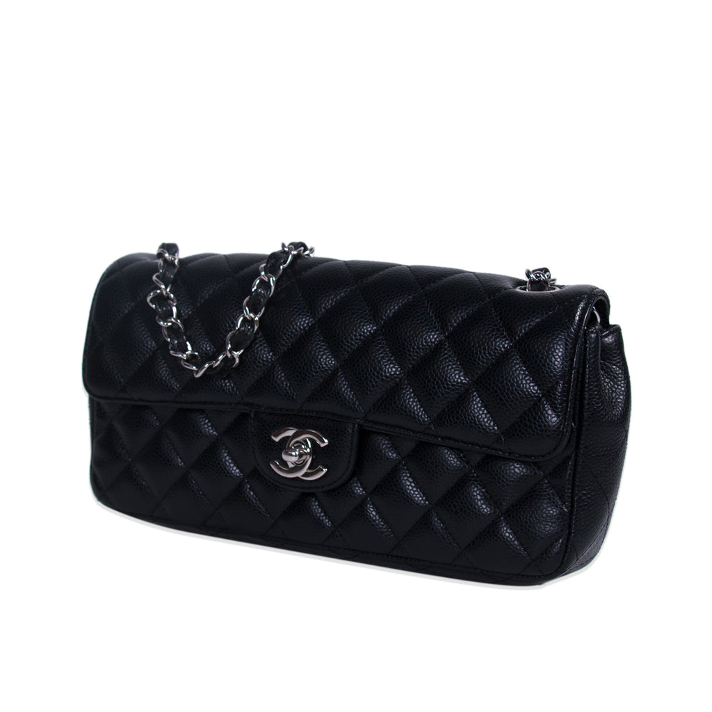 Chanel Caviar Rectangular Flap Bag Bags Chanel - Shop authentic new pre-owned designer brands online at Re-Vogue