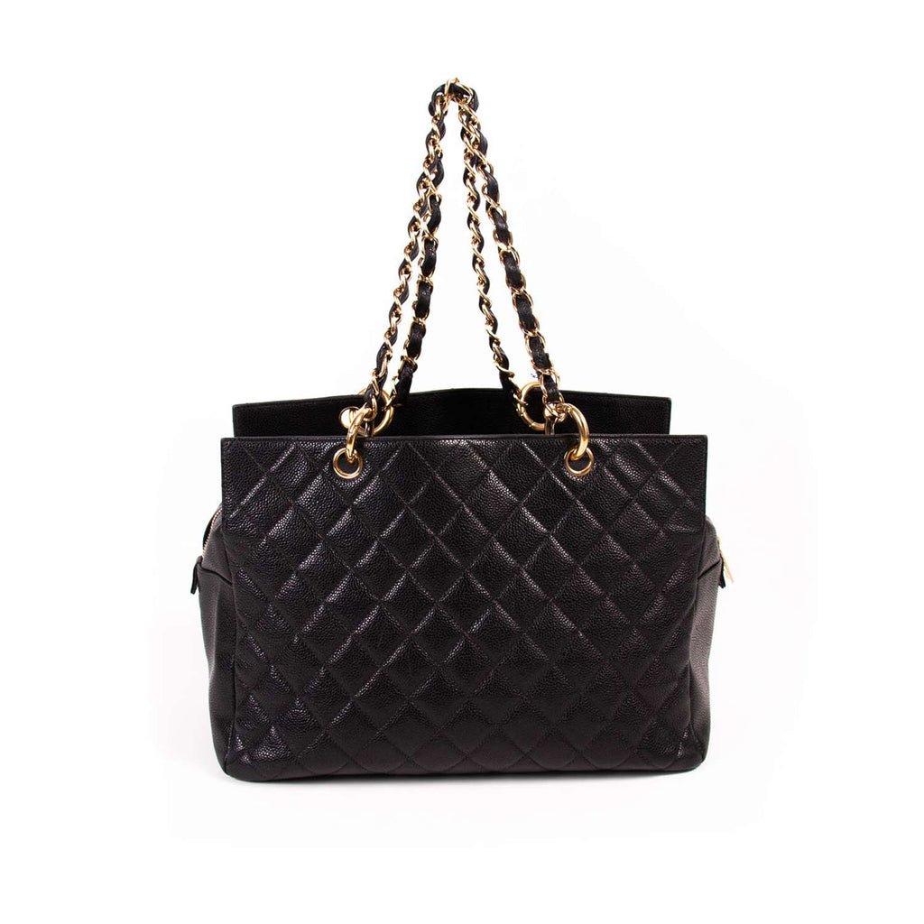 Chanel Caviar Timeless Shopping Tote Bags Chanel - Shop authentic new pre-owned designer brands online at Re-Vogue