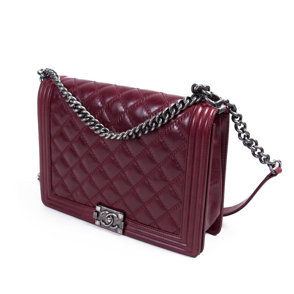 a0fa574100a6 ... Chanel Large Boy Bag Bags Chanel - Shop authentic new pre-owned  designer brands online ...
