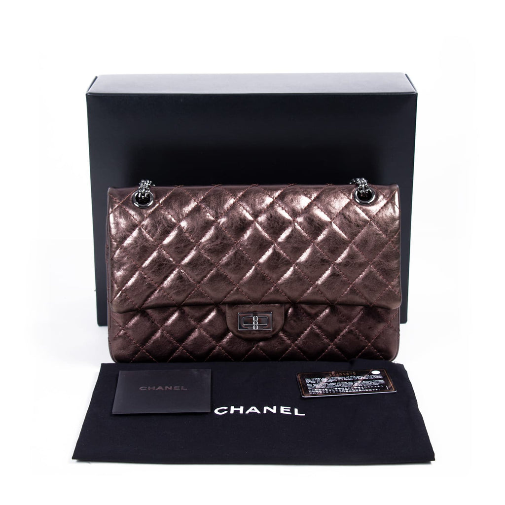 Chanel 2.55 Reissue Large Flap Bag Bags Chanel - Shop authentic new pre-owned designer brands online at Re-Vogue