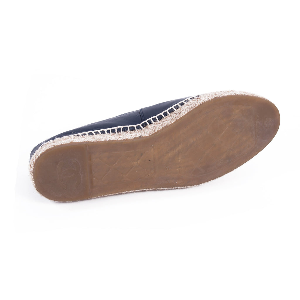 d61ae0977c7 Chanel Lambskin Leather CC Espadrilles Shoes Chanel - Shop authentic new pre -owned designer brands ...