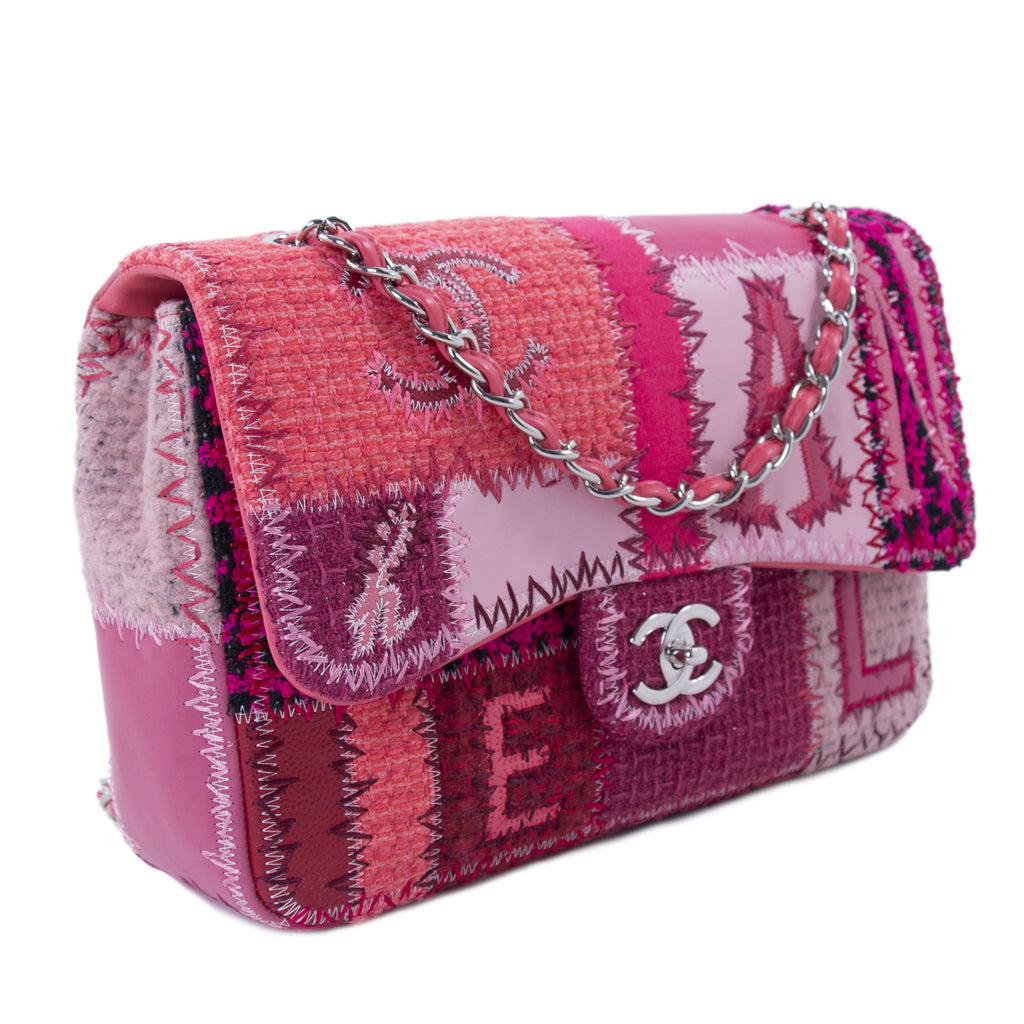 Chanel Classic Patchwork Jumbo Single Flap Bag Bags Chanel - Shop authentic new pre-owned designer brands online at Re-Vogue