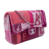 Chanel Classic Patchwork Jumbo Single Flap Bag