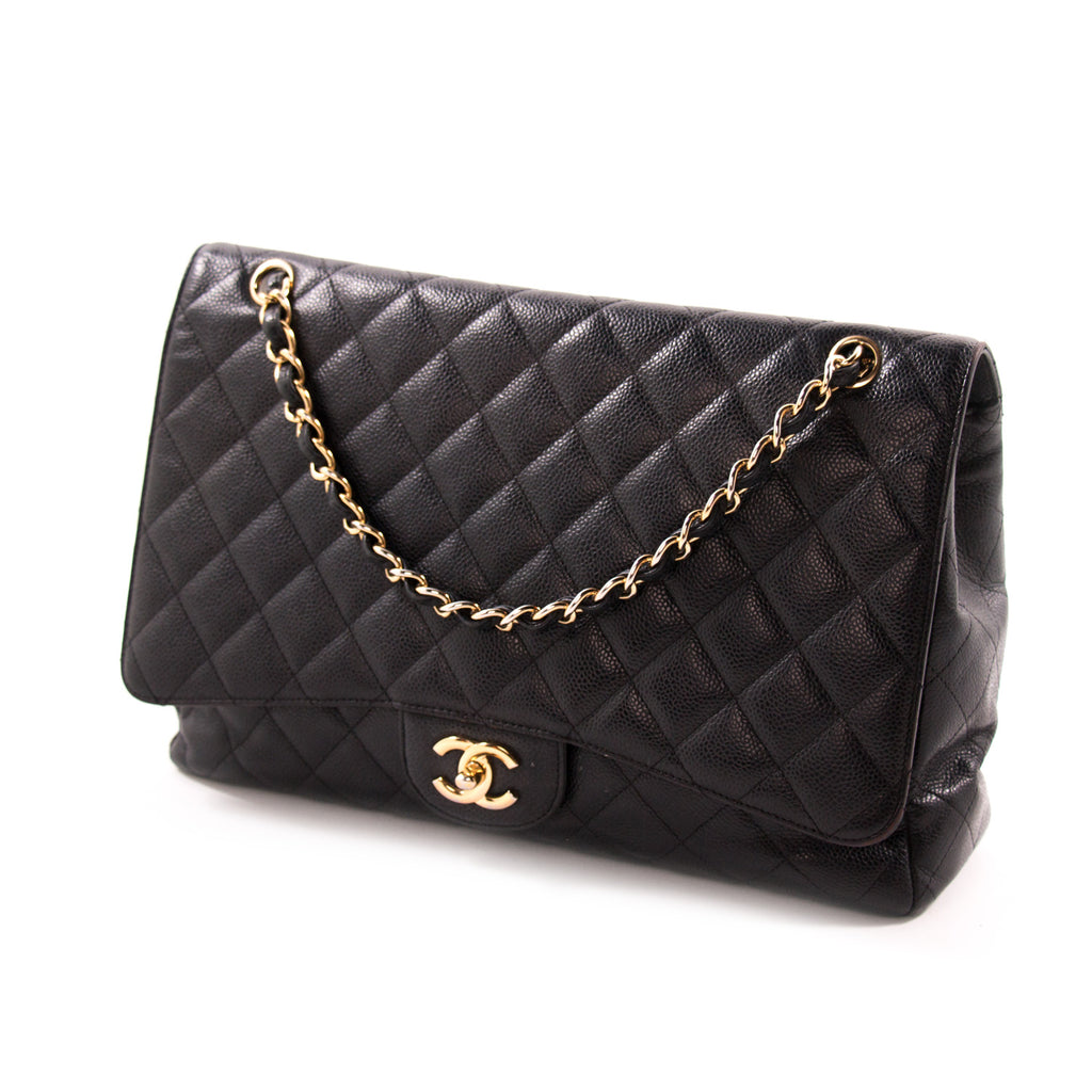 Chanel Classic Maxi Single Flap Bag Bags Chanel - Shop authentic new pre-owned designer brands online at Re-Vogue
