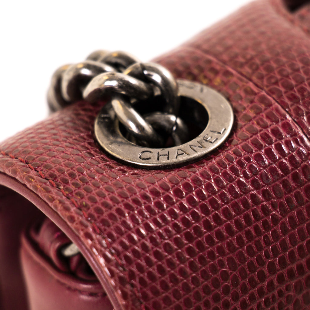 Chanel Lizard Perfect Edge Double Flap Bag Bags Chanel - Shop authentic new pre-owned designer brands online at Re-Vogue