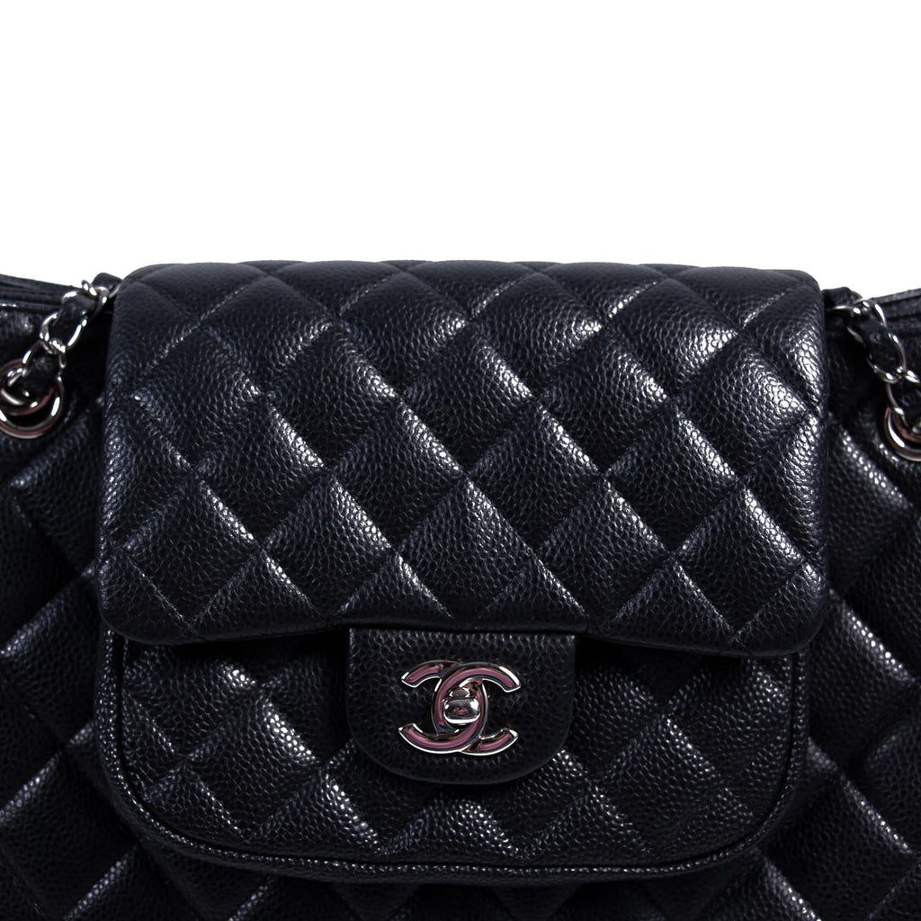 Chanel Paris-Edinburgh Quilted Flap Tote Bags Chanel - Shop authentic new pre-owned designer brands online at Re-Vogue