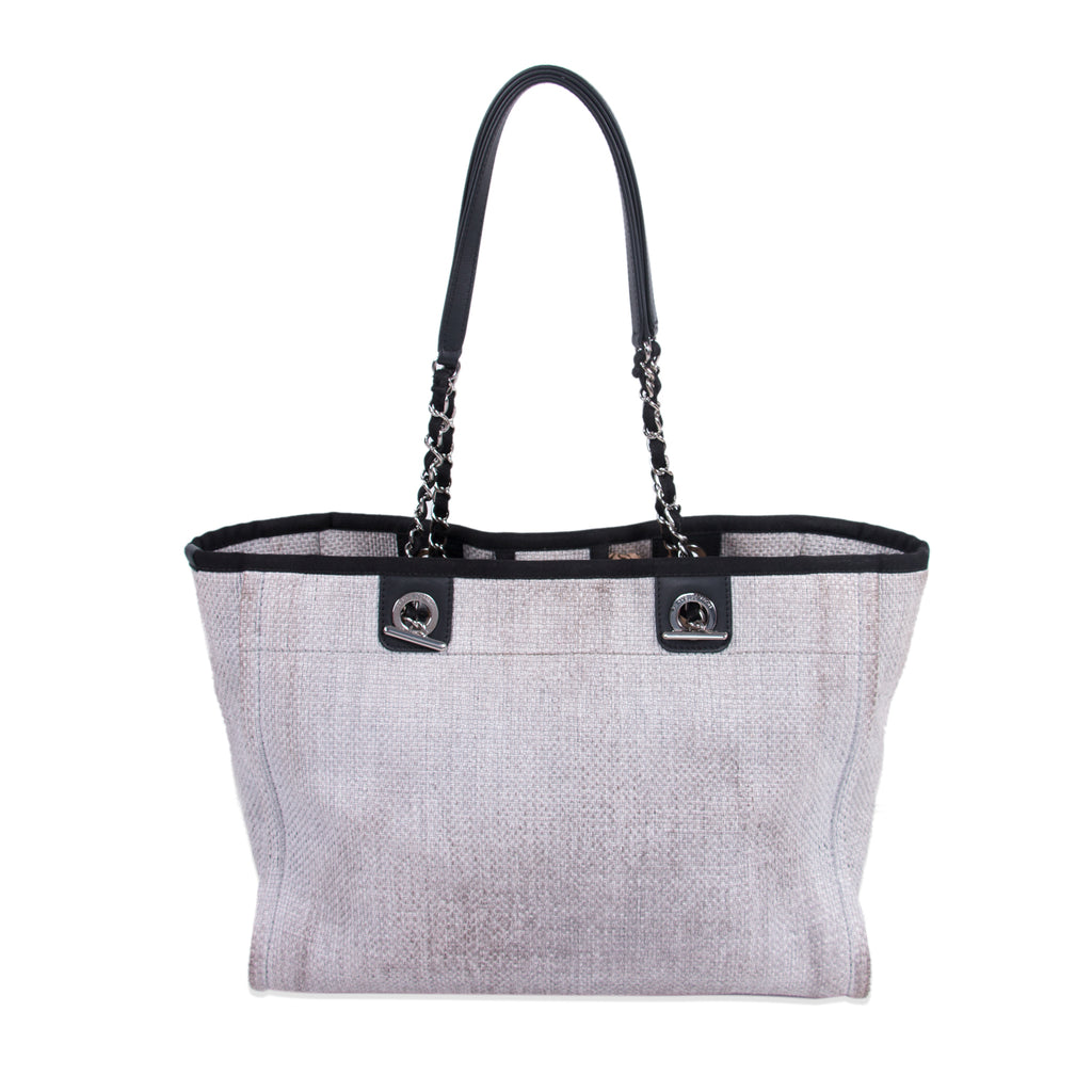 Chanel Small Deauville Tote Bag Bags Chanel - Shop authentic new pre-owned designer brands online at Re-Vogue