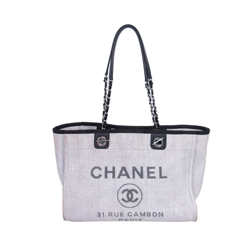 337c8623895f Chanel Small Deauville Tote Bag Bags Chanel - Shop authentic new pre-owned  designer brands