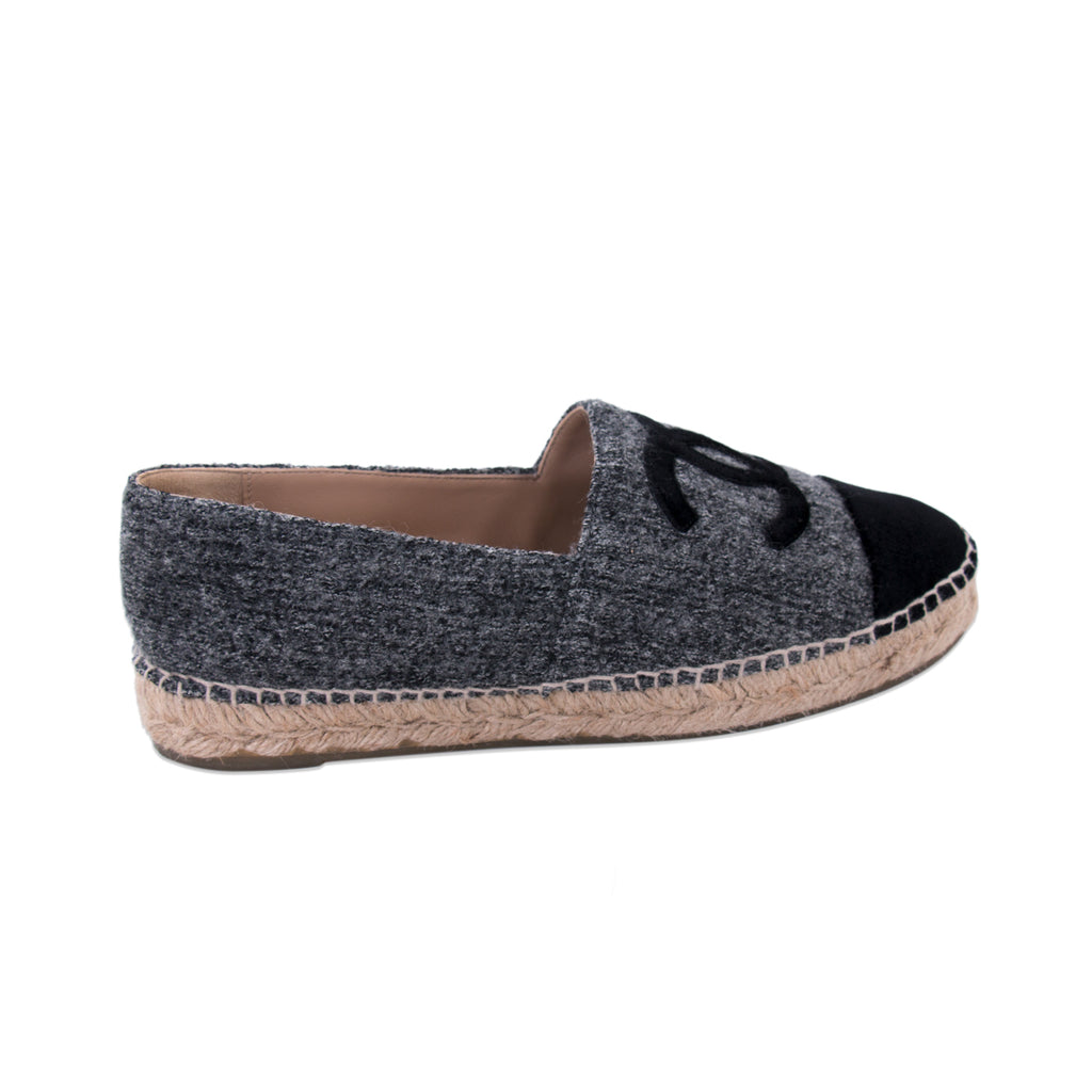 Chanel 2016 CC Tweed Espadrilles Shoes Chanel - Shop authentic new pre-owned designer brands online at Re-Vogue